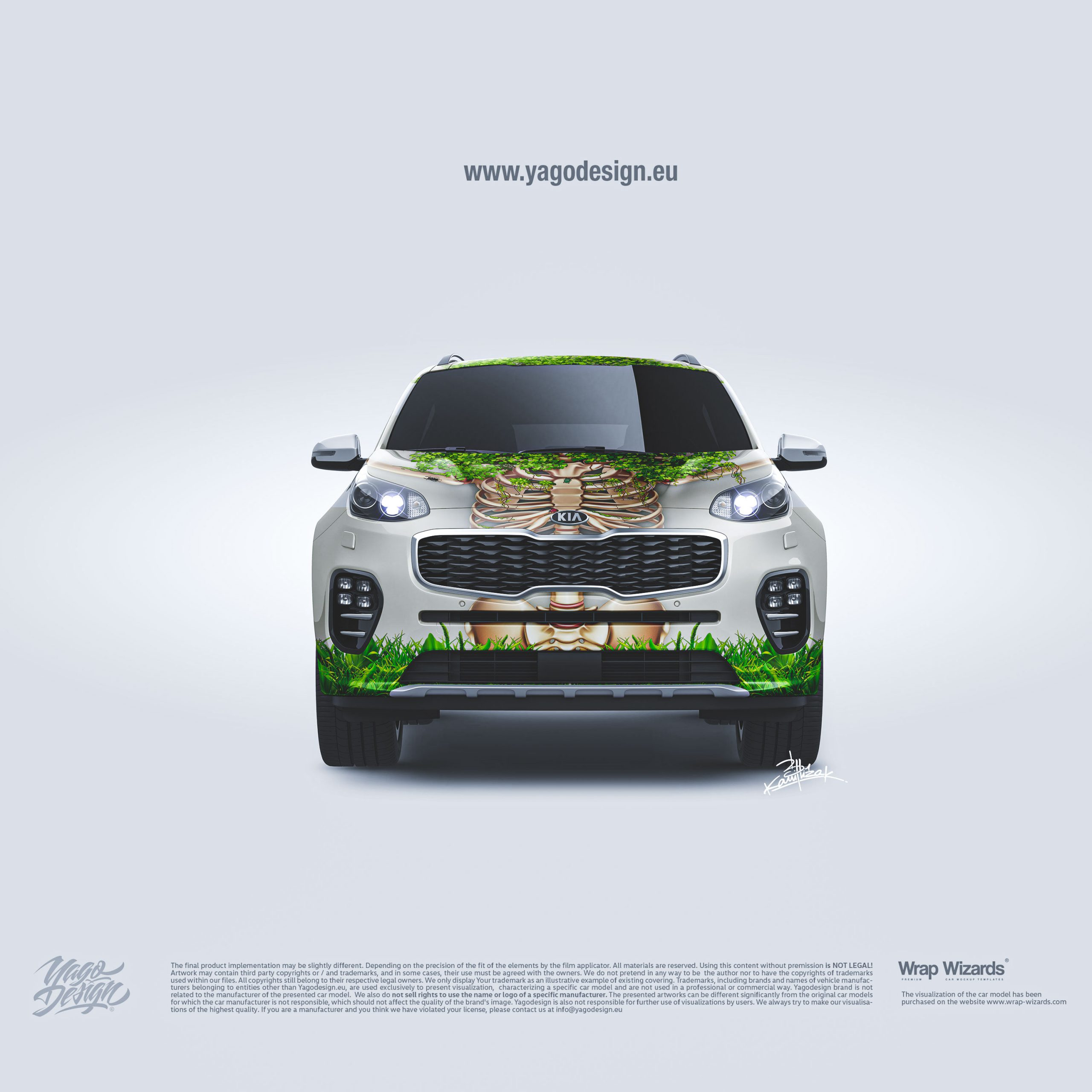 KIA-Sportage-2016-Livery-Design-By-Yagodesign-Automotive-Design-Studio-front-view-scaled