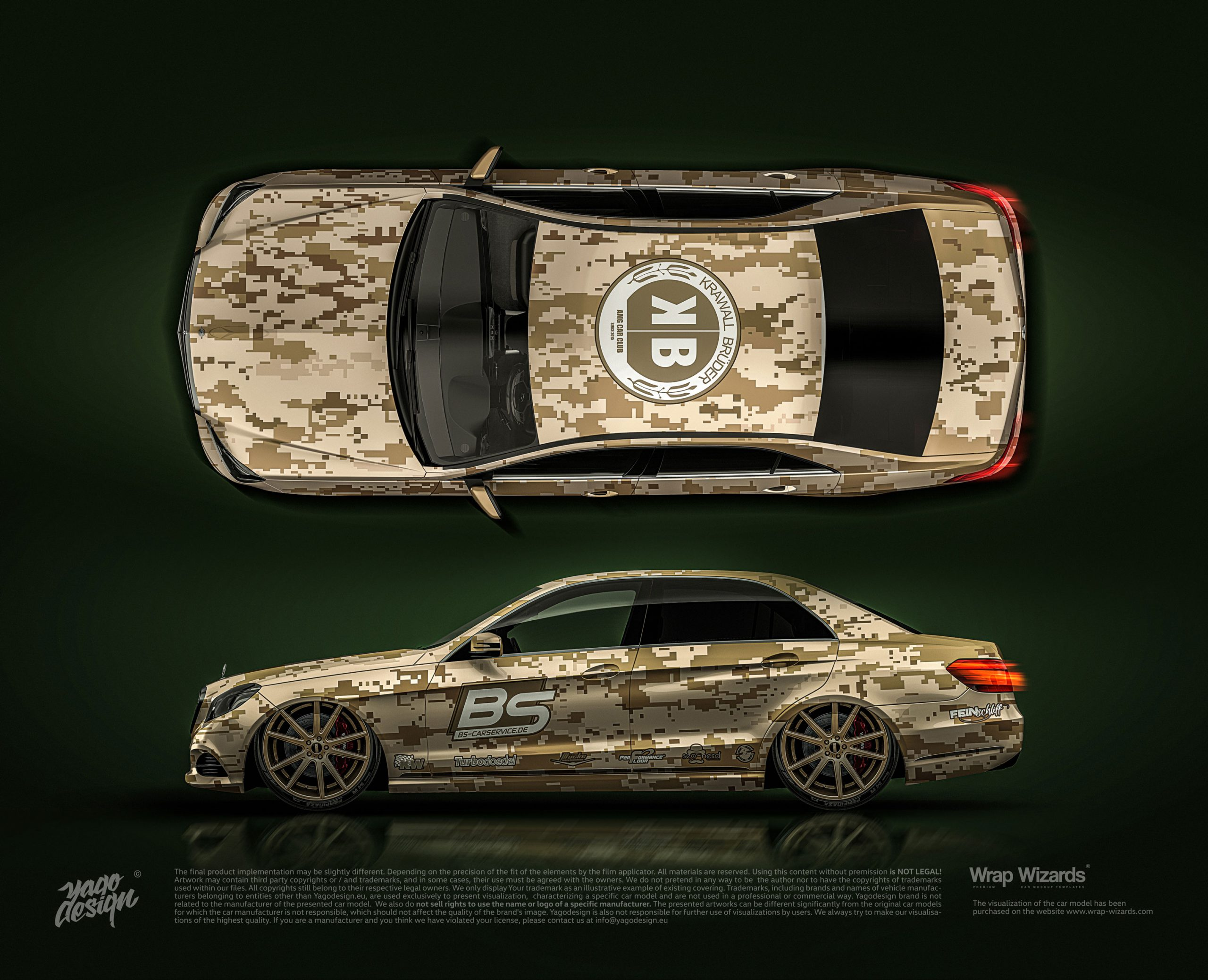 Mercedes-Benz-E-class-2014-by-Yagodesign-2020—side-and-top-view-3500px