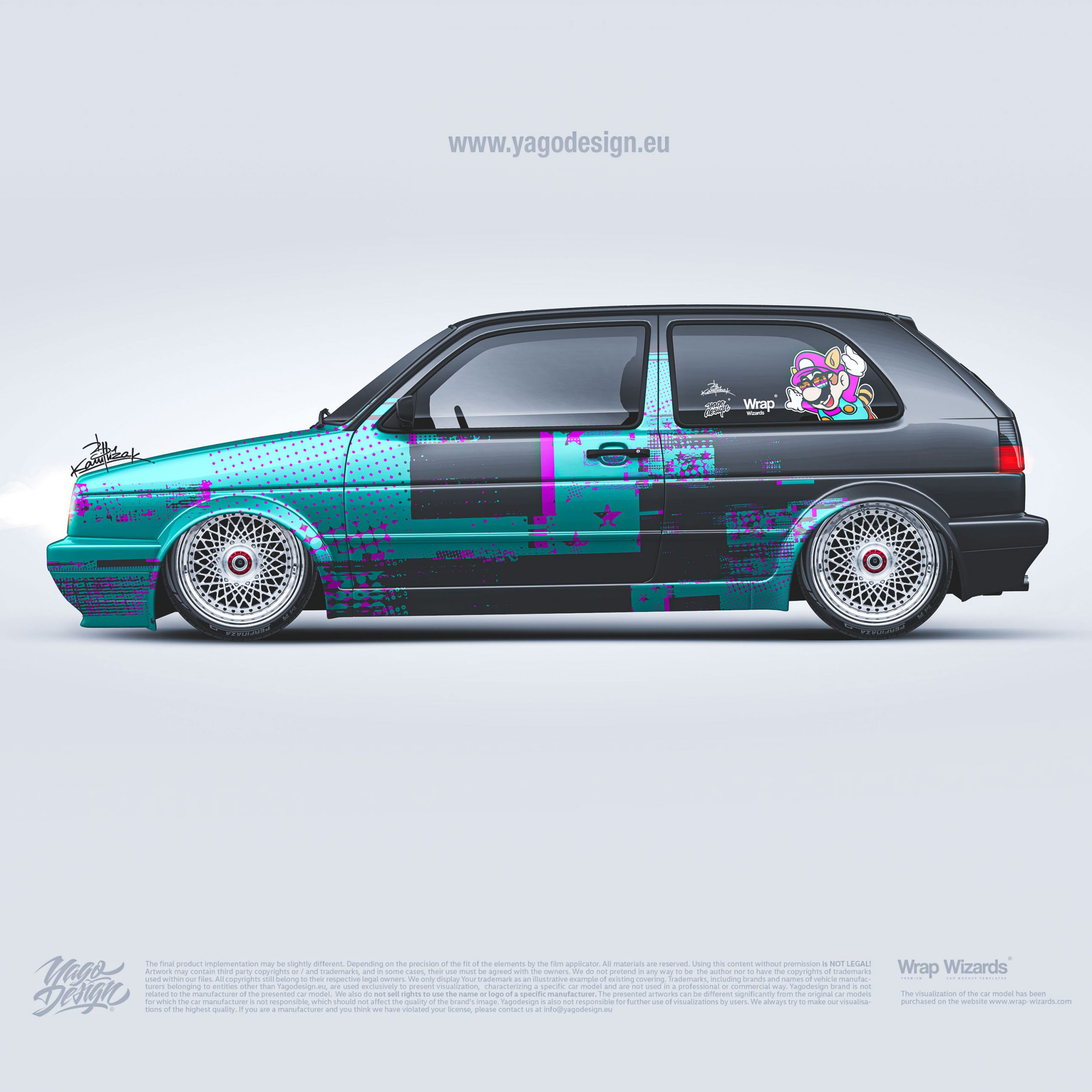 Volkswagen-Golf-MK2-GTI–by-Yagodesign-Livery-Design-Car-wrapping-studio