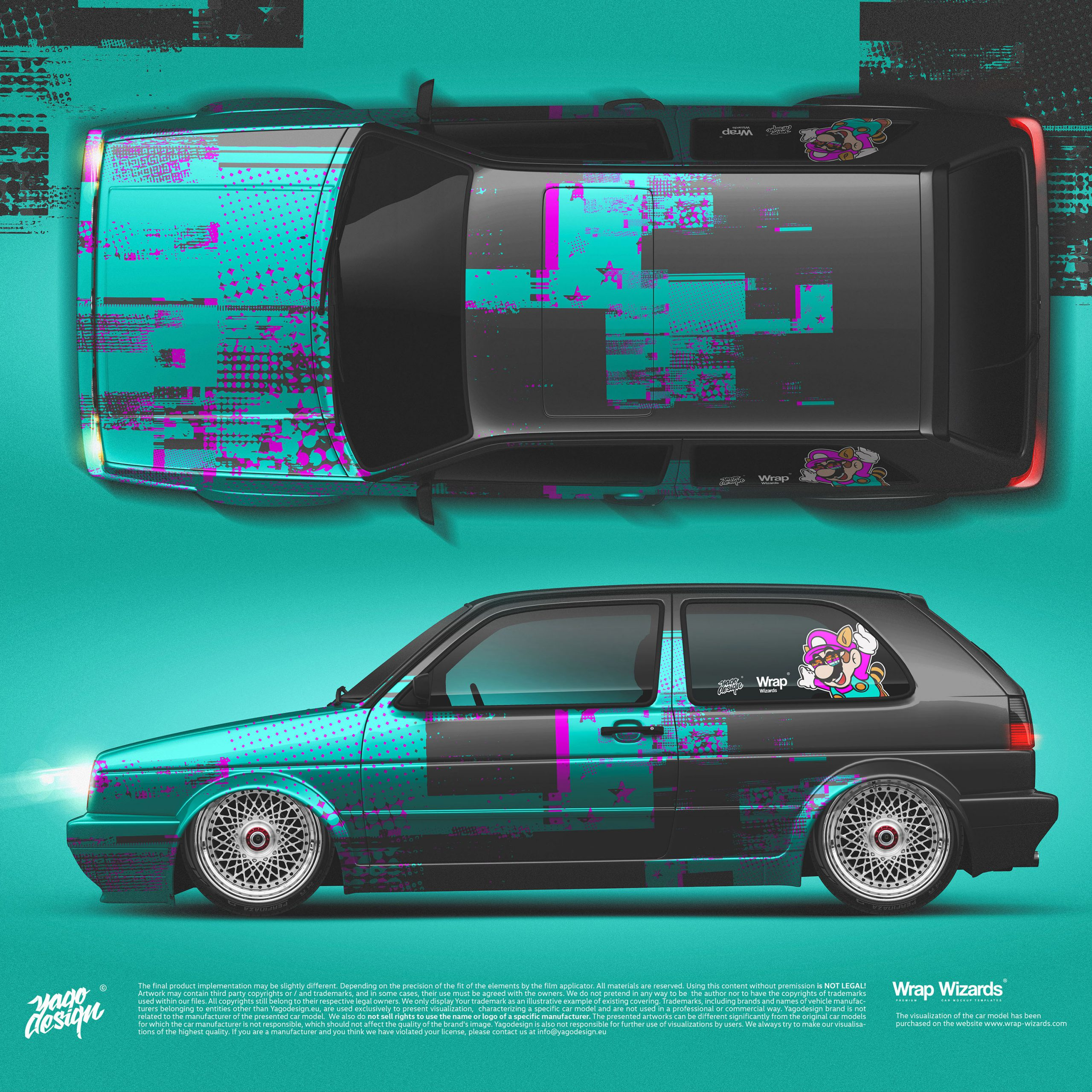 Volkswagen-Golf-MK2-GTi-by-Yagodesign-2020-Car-wrapping-Design-