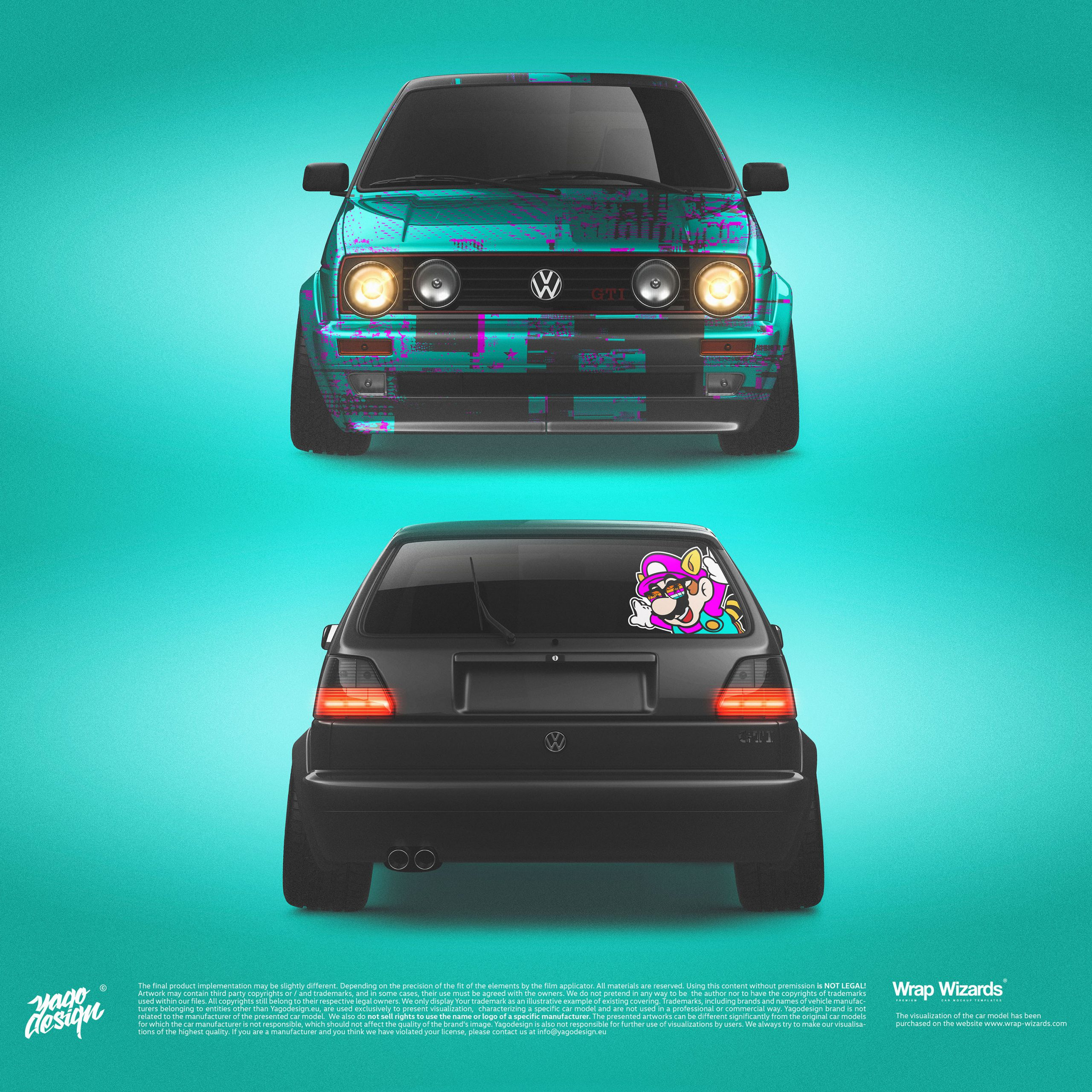 Volkswagen-Golf-MK2-GTi-by-Yagodesign-2020-Car-wrapping-Design-1