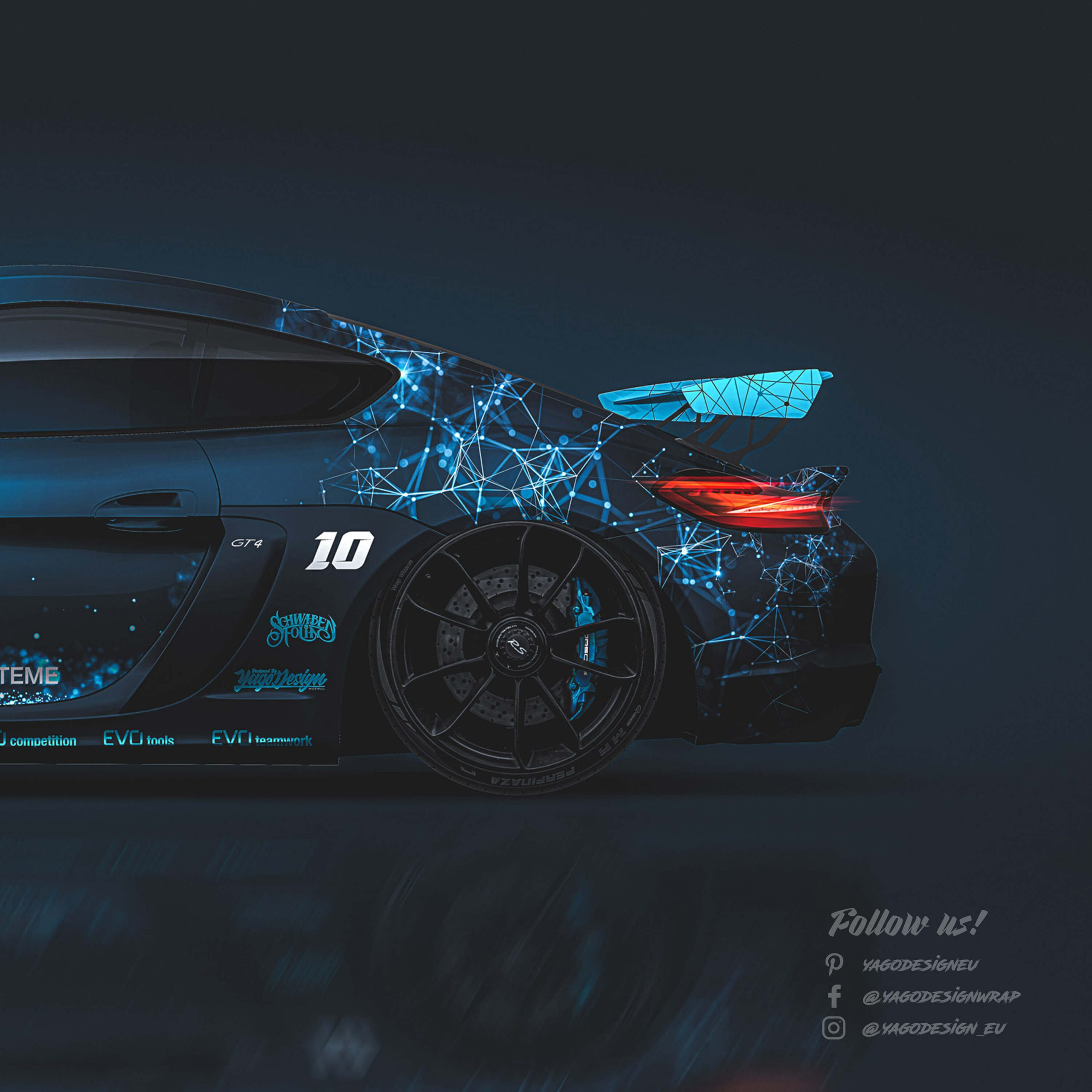 Porsche-Caymman-GT4-2016-by-Yagodesign-2019-rear-scaled