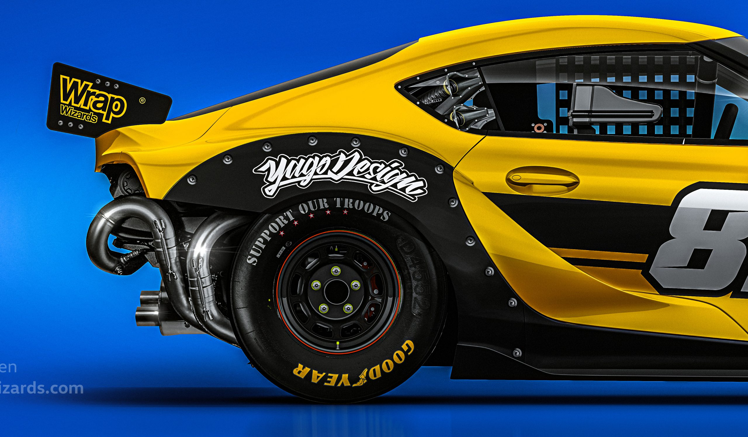 Yellow-Toyota-Supra-A90-by-Yagodesign-2019-The-WrapGame-Entry-left-side