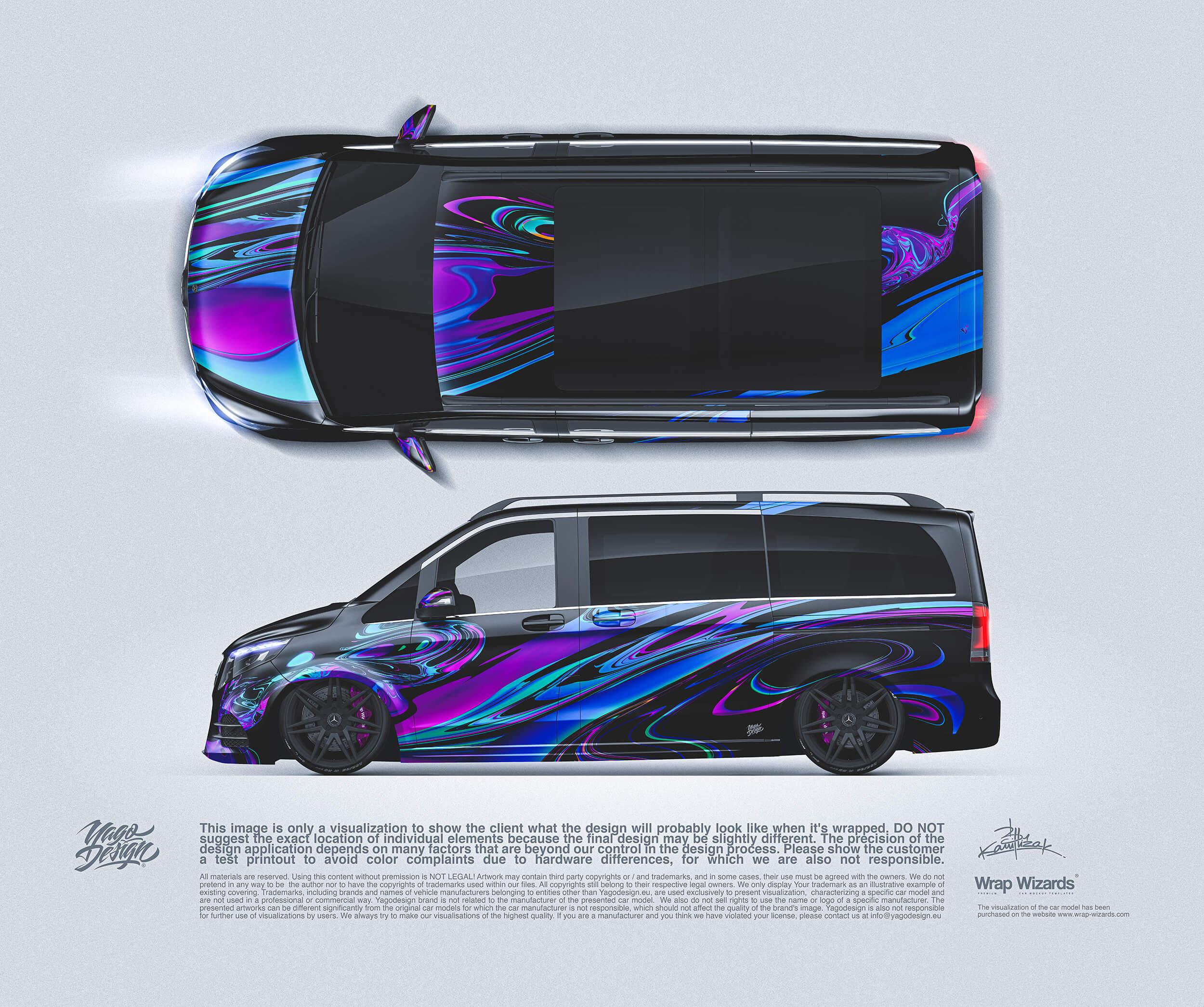 MercedesBenz Vclass side top
