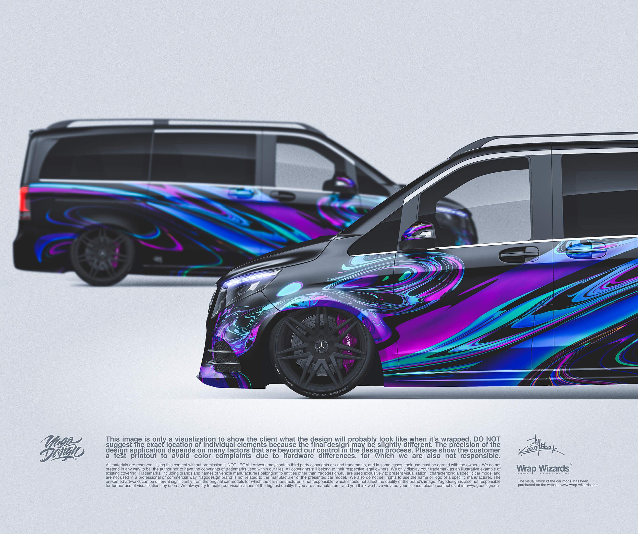MercedesBenz Vclass sides