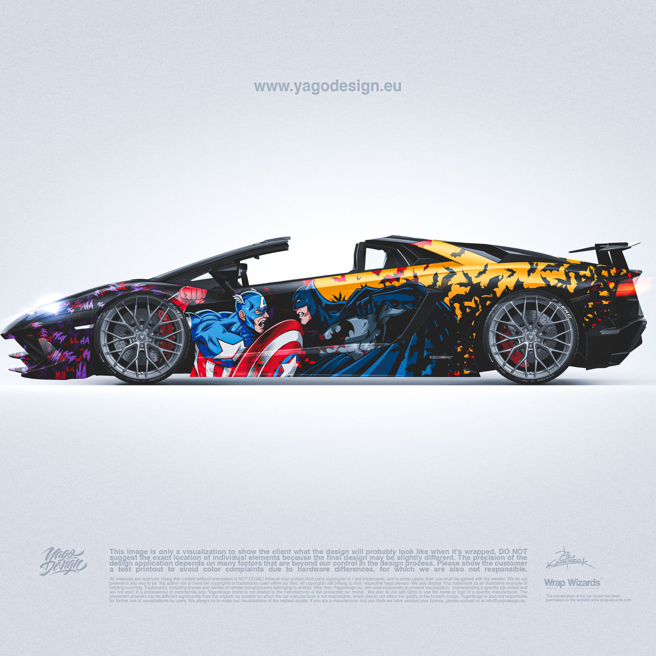 lamborghini-Aventador-S-MARVEL–DC-by-Yagodesign-