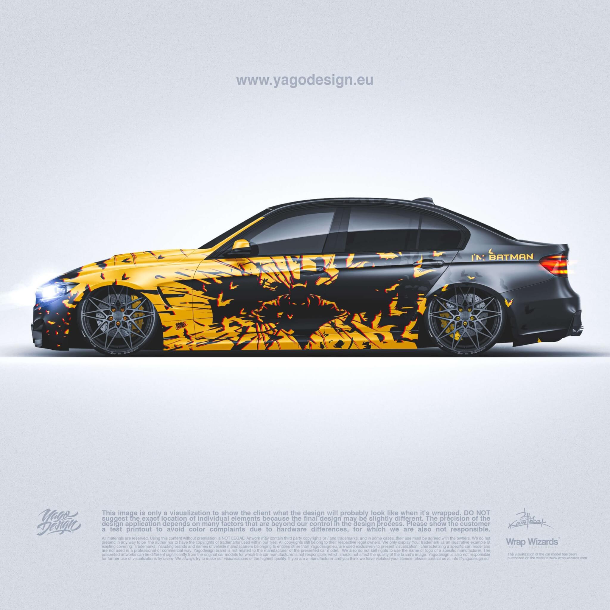 BATMAN-DESIGN-BMW-F30-BY-YAGODESIGN-SIDE-TOP